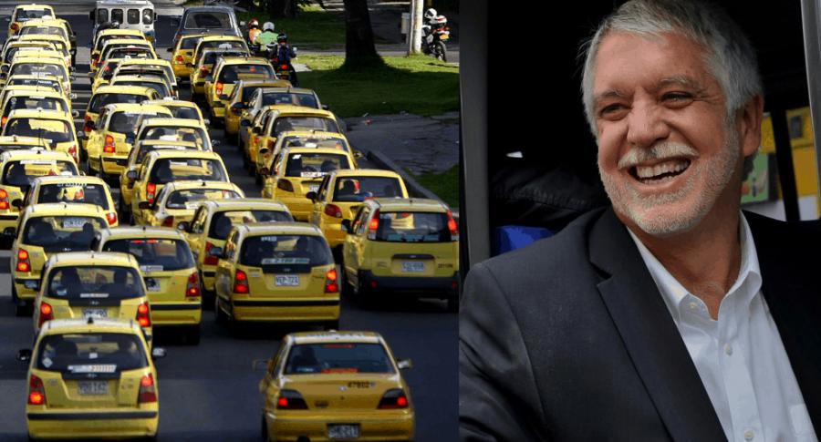 Taxis y Alcalde Enrique Peñalosa