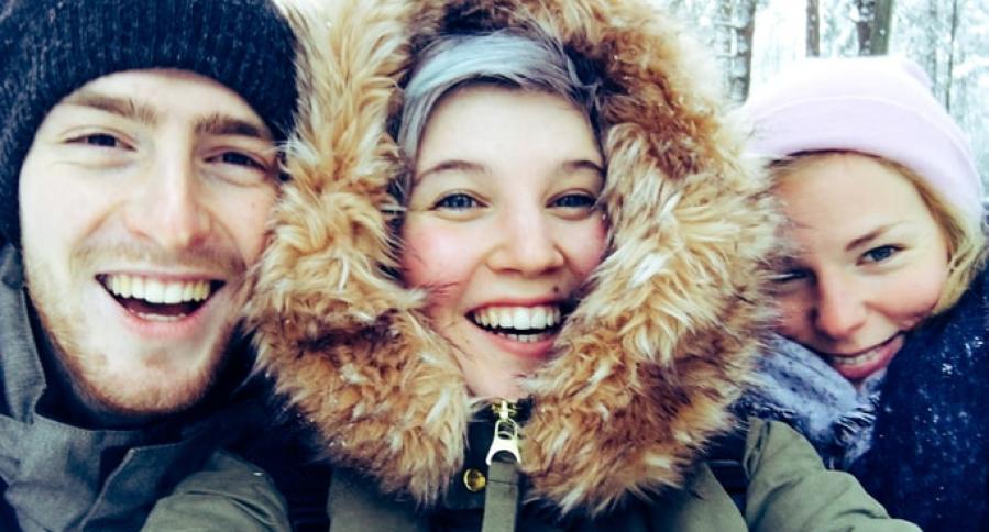 Jovenes en Tempere, Finlandia