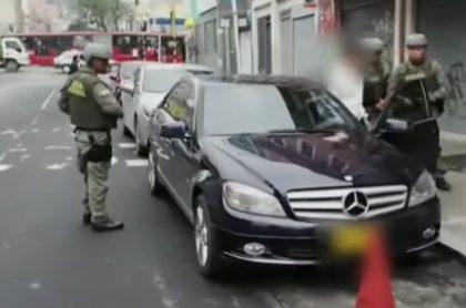 Alias 'Rafa'. capturado en Bogotá