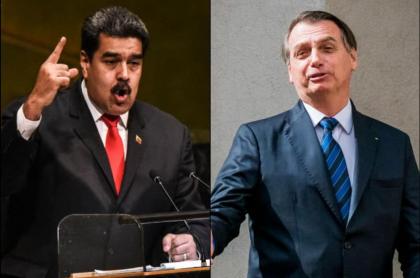 Maduro y Bolsonaro