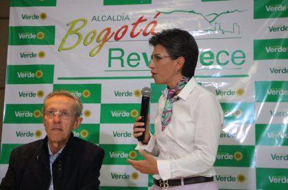 Antonio Navarro Wolff y Claudia López