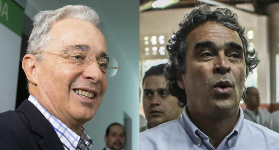 Álvaro Uribe Vélez y Sergio Fajardo