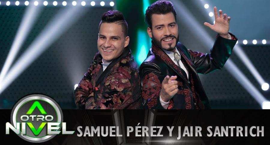 Samuel Pérez y Jair Santrich