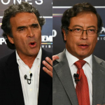 Sergio Fajardo y Gustavo Petro