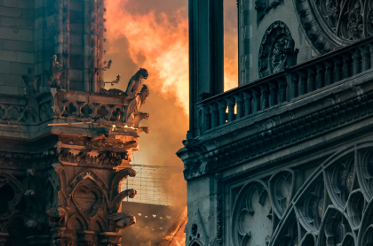 Gárgolas de la catedral de Notre Dame