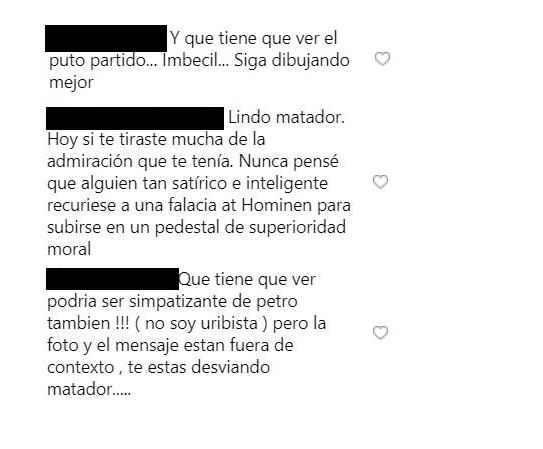 Comentarios a Matador
