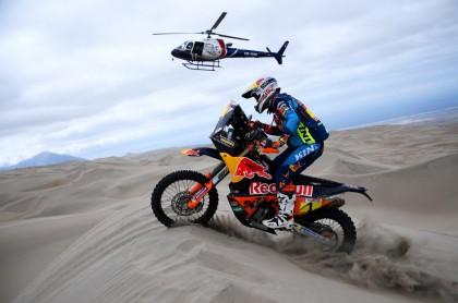 Moto del Rally Dakar