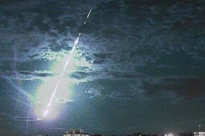 Meteorito en Brasil