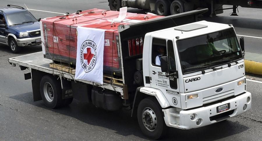 Cargamento de ayuda humanitaria