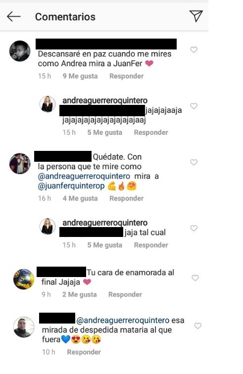 Comentarios post Andrea Guerrero
