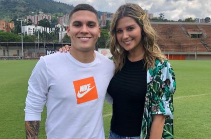 Juan Fernando quintero y Andrea Guerrero