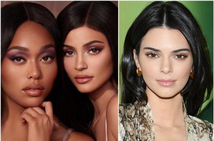 Jordyn Woods, Kylie Jenner y Kendall Jenner