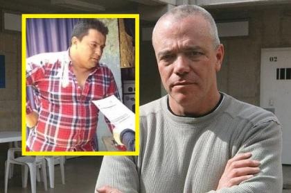 John Jairo Velásquez alias 'Popeye' y el suplantador, Ariel Fernando Arboleda