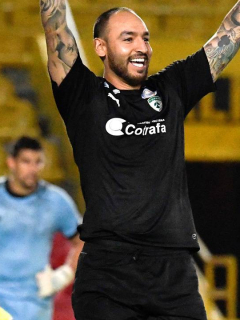 Diego Novoa, arquero de Equidad