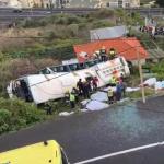 Accidente de bus en Portugal