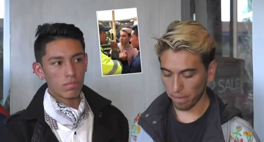 Multa a pareja gay en el Andino