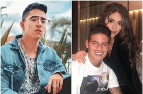 Andy Rivera, James y Juana Valentina