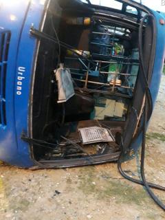 Accidente SITP en Ciudad Bolívar