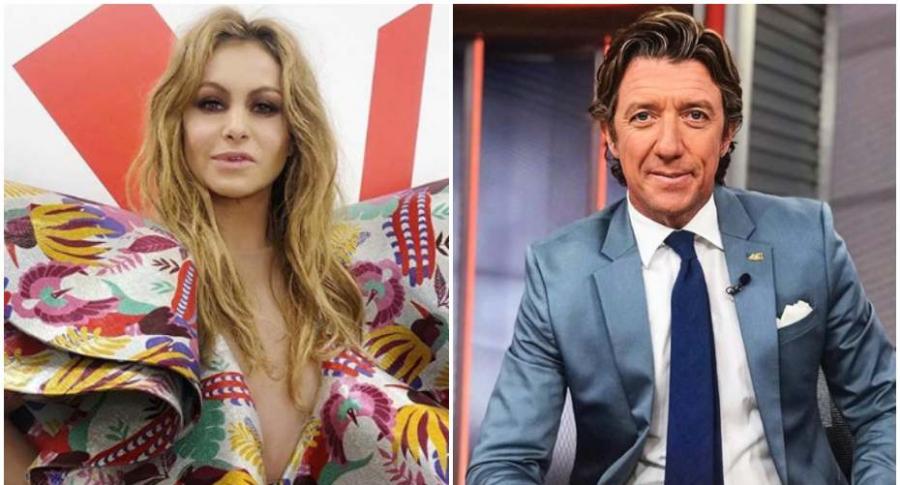 Paulina Rubio y su ex, Nicolas Vallejo-Nagera.