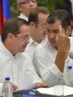 Ricardo Patiño y Rafael Correa