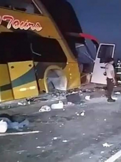 Bus accidente Perú