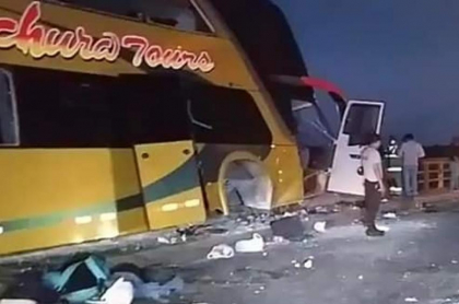Bus accidente Perú