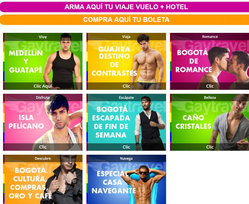 Captura página web Cartagena Pride 2017