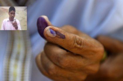 Dedo votación India
