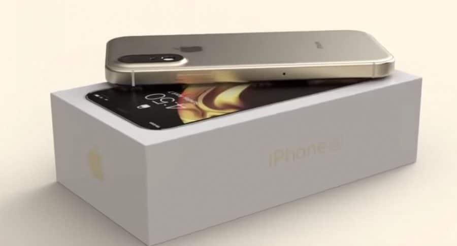 Prototipo de iPhone SE