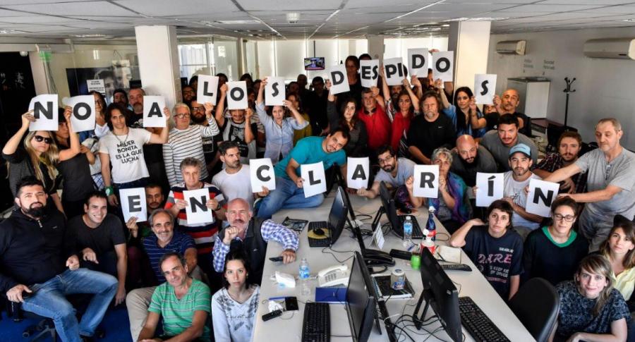 Despidos Clarín