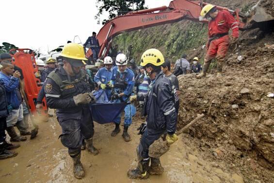 Víctimas deslizamiento Rosas Cauca