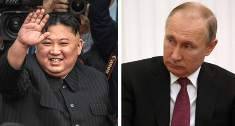 Kim y Putin