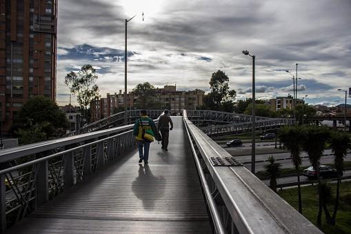 Puente peatonal Bogotá