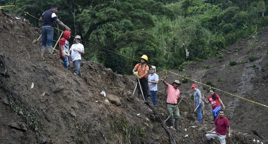 Alud en Cauca