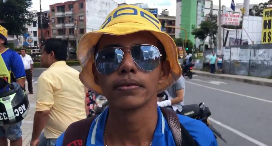 Hincha de Boca Juniors