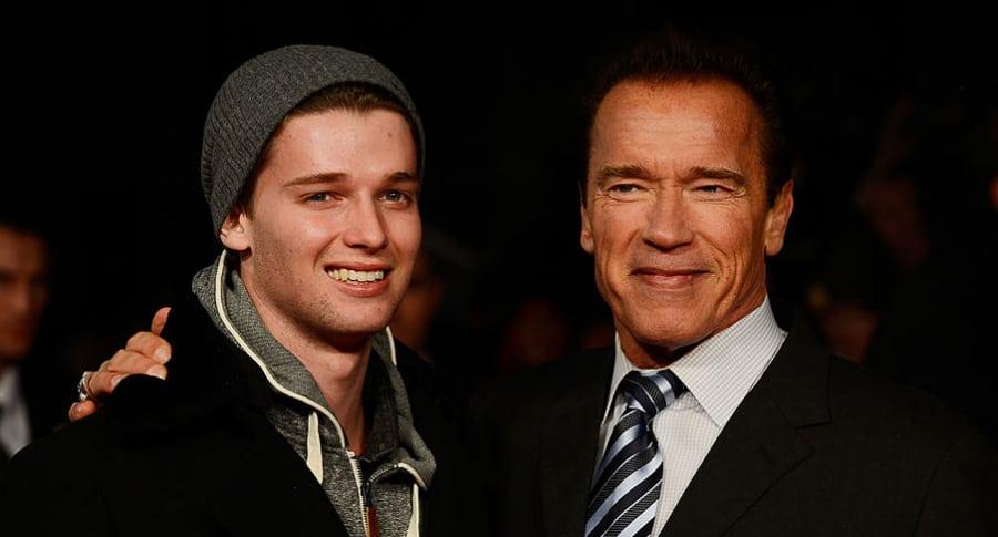Patrick y Arnold Schwarzenegger