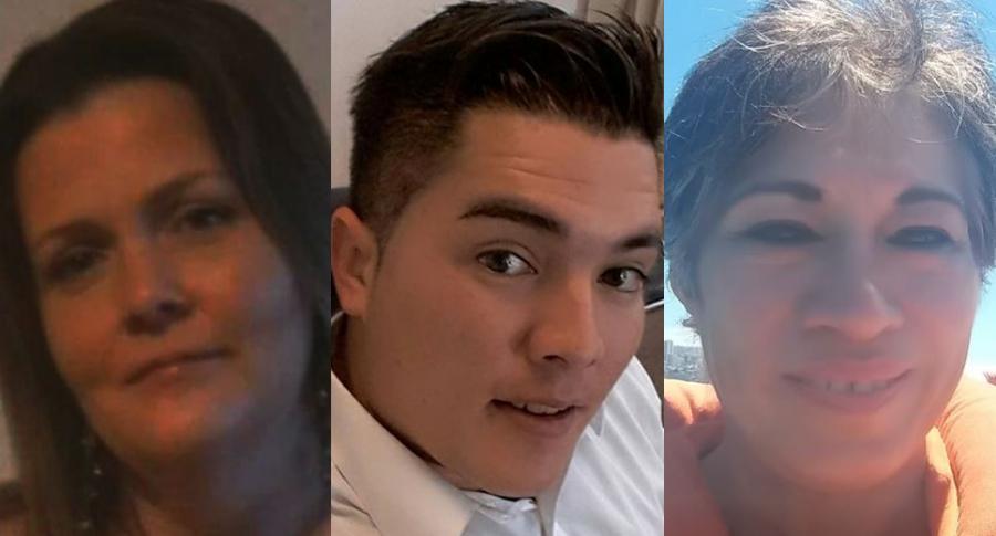 Becky Evans, Juan Valderrama y Amory Ojeda