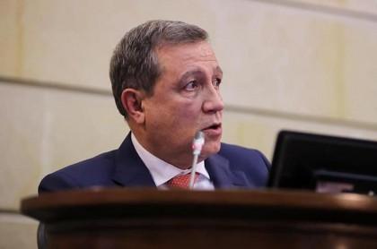 Ernesto Macías, presidente del Senado