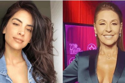 Jessica Cediel y Amparo Grisales