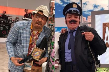 Suso y Don Jediondo, humoristas.