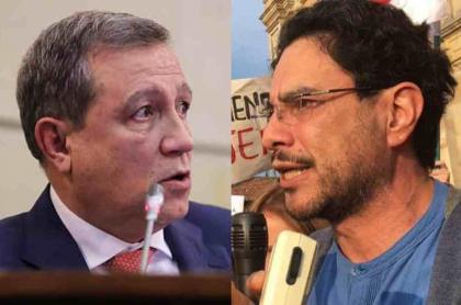 Ernesto Macías e Iván Cepeda
