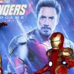 Iron Man en cartel de 'Avengers: Endgame'.