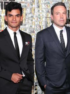 Juan Camilo Castillo y Ben Affleck