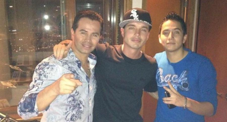 Jhonny Rivera, J Balvin y Andy Rivera