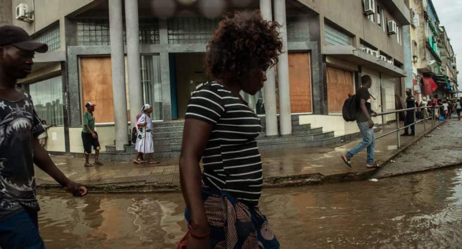 Mujeres de Mozambique, tras el ciclón Idai