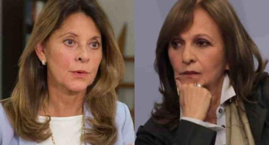 Marta Lucía Ramírez y Ángela María Robledo