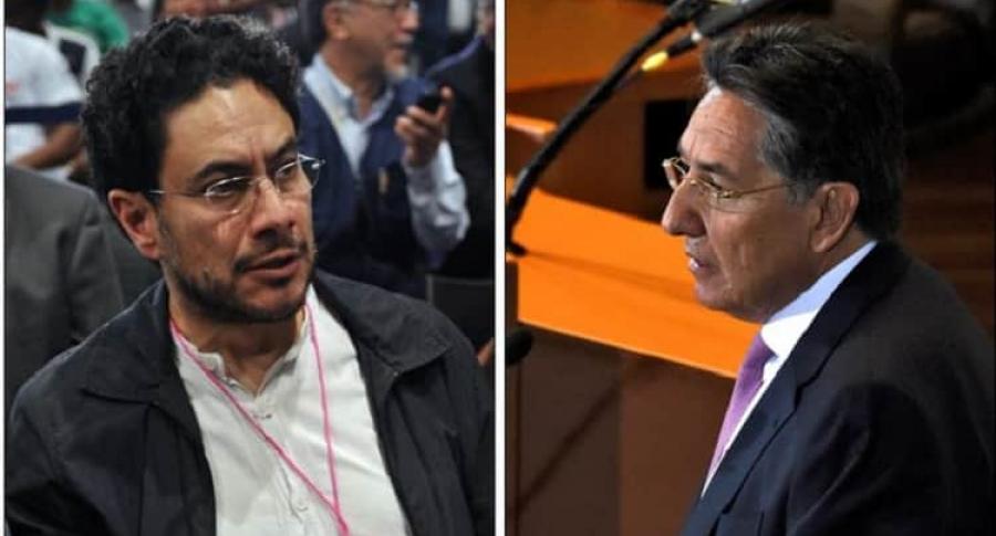 Iván Cepeda y Néstor Humberto Martínez