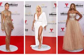 Alfombra roja Billboard Latinos 2019