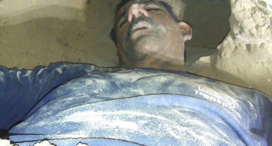 Hombre atrapado en túnel que hizo para espiar a su ex.