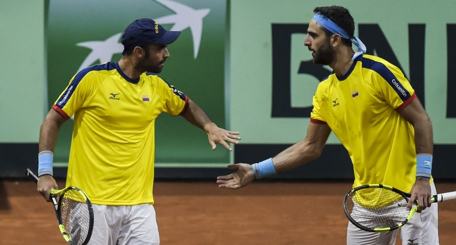Robert Farah y Juan Sebastian Cabal, tenistas.